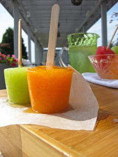 Wow...these look good, i bet kids would love them...Delicious paleo recipe for melon popsicles. A kid-friendly paleo food made from cantaloupe, watermelon, and honeydew melon!