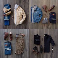 Saturday recap with some fall rugged inspired combos. Which one is your favorite? For those of you who haven't entered the giveaway. See my stories for entry details. Gap Style, Mode Style, Rugged Men, Herren Outfit, Mens Fashion, Fashion Tips, Fashion Design, Fashion Photo, Fashion Trends