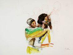 Reposting @giovadirosa: Penna e acquerello su carta 29,7x21cm #art #arte #artworks #artwork #inkonpaper #sketch #sketching #figure #portrait #ink #inkonpaper #inchiostrodichina #instaart #inchiostro #instalike #illustration #migrantes #figure #watercolor #watercolorpainting #illustration #illustrazione #illustrationartists #artistics #migrantes #dirosagiovanniart #bozzetto #linedrawing #sketchy #segno #lines #arte #artpen #modernart