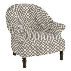 Julia Upholstered Chair. No seam at cushion!