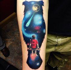 universe tattoo - Buscar con Google