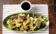 Harumi Kurihara recipe: crisp salad with grated carrots and a ponzu soy dressing