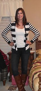 Nautical by Nature: Nautical Outfit of the Week: Saving Money Fashionably