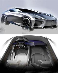 Car Design Sketch, Car Sketch, Automotive Design, Auto Design, Car Drawings, Transportation Design, Future Car, Car Photos, Hot Cars