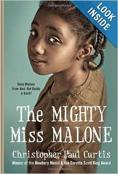 My new favorite book! I wanted to reread it the minute it ended. A tragedy, a true tragedy it hand to end!   The Mighty Miss Malone: Christopher Paul Curtis: 9780440422143: Amazon.com: Books