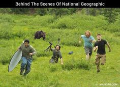 National Geographic - Behind the scenes — eCards Funny Inc. #nationalgeographicfunny #nationalgeographichilariousscenes
