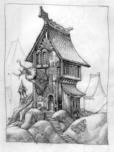 Sean Andrew Murray's Portfolio: Drawings