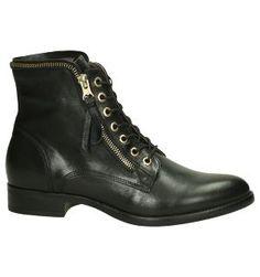 Stoere Zwarte Boots met Ritsen Nero Giardini | TORFS.BE | Gratis verzend en retour