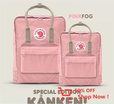 Buy it NOW! The Pink-Fog Limited Edition Kånken color is now available for 1 WEEK ONLY! Projects To Try, Abs, Baby Shower, Bipper, Instagram, Designer Bags, Kanken Backpack, Suspenders, Stuff To Buy
