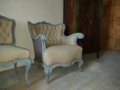 shabby chic festésű vintage bútor Shabby Chic Furniture, Rustic Furniture, Furniture Design, Vintage Decor, Vintage Designs, Baroque, Wabi Sabi, Country Chic, Armchair