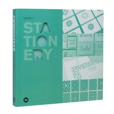 Basic Stationery, 29€, now featured on Fab.