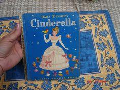 Walt Disney's Cinderella - A little Golden Book - 1950 by DaisVintageTreasures on Etsy