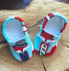 Buy Now Kiddo Kicks // Baby Booties in Clever Fox by...