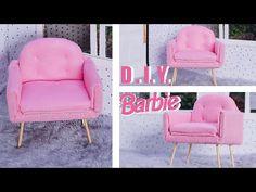 Barbie Dolls Diy, Barbie Doll House, Diy Doll, Barbie Clothes, Barbie House Furniture, Doll Furniture, Dollhouse Furniture, Barbie Organization, Barbie Birthday Party