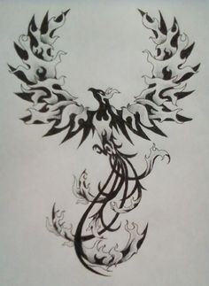 pheonix. This is similar to the tattoo I already have but I love it!