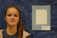Rain Stegemoller, 10th grade honorable mention.
