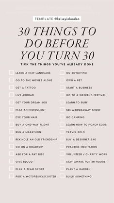 Personal development, 30 things to do before Bucket list, Self care, Before i die, Self care routine - 50 Ways to Spend Time Alone - 30 Things To Do Before 30, 30 Before 30 List, Bucket List Ideas Before I Die, Self Development, Personal Development, Things To Do When Bored, Things To Do Alone, Productive Things To Do, New Things To Try