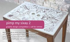 call for entries: pimp my sixay2 - graphic design award on Behance