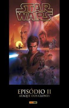star-wars-episodio-II-ataque-dos-clones editora panini, 2015, Henry Gilroy, 144 páginas, edição de luxo, capa dura, nova e lacrada - Baú Comic Shop: Quadrinhos, Mangás e Livros Geek