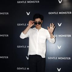GENTLE MONSTER Opening ceremony with Korea actor & singer Sung Jae, Yuk (육성재, BTOB)