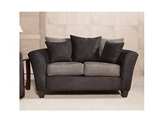 Chelsea Home Furniture Mansfield Loveseat Bulldozer Black *** Learn more by visiting the image link.