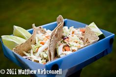 Fish Tacos – topped with crunchy and fresh cabbage. Add in a fresh lime to squeeze over, you might just impress your camp mates! From our book Trail Eats.  Fish Tacos  Print Prep time 10 mins Total time 10 mins  Description Sizzling tacos Author: Sarah Recipe type: Dinner Cuisine: One pot Meals …
