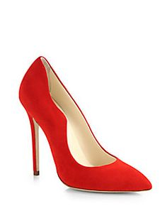 Brian Atwood - Besame Suede Pumps