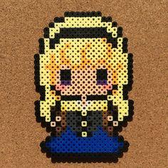 Aurora (Sleeping Beauty) perler beads by tsubasa.yamashita