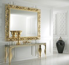 The Contemporary Bronze Mirrored Venetian Console Table offers the ultimate in contemporary style statements. As comfortable in a dining room, bedroom or study as it is as a welcome in an entrance hallway. Mirrored Furniture, Home Decor Furniture, Luxury Furniture, Narrow Console Table, Bronze Mirror, Decoration Inspiration, Décor Boho, Luxury Living, Room Decor