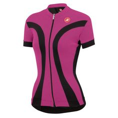 Castelli Small Women's IPNOSI Jersey Cycling Purple 4514053 for sale online Cycling Gear, Cycling Jerseys, Fitbit, Jersey Shorts, Wetsuit, Zip, Purple, Fitness, Swimwear