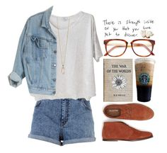 """""""Strenght inside of you"""" by maartinavg ❤ liked on Polyvore featuring River Island, Clu, Wood Wood, SELECTED and Zoya"""