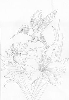 Bergsma Gallery Press :: Paintings :: Originals :: Original Sketches :: 2012/Come Fly With Me - Original Sketch