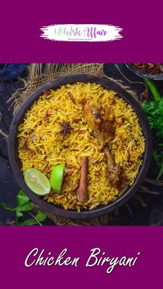 Puri Recipes, Veg Recipes, Spicy Recipes, Chicken Biryani Recipe Indian, Biryani Chicken, Indian Chicken Recipes, Veg Biryani, Indian Dessert Recipes, Chutney Recipes