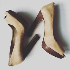 "MRKT Sonya Pumps These MRKT luxury heels are sooo comfortable and perfect paired with skinny jeans for a night out! Used condition, well taken care of. See pictures for any imperfections. All reasonable offers accepted.                                                 Item #235380 UPC #829860092167 Stay on trend in this lux suede pump from Mrkt. The Sonia is available in four hot colors to pair with your favorite look. Suede upper Square peep toe 1"" suede platform, 5"" suede heel Synthetic…"