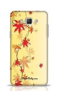 Shinning Flowers Samsung Galaxy A5 Phone Case