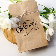 Oh Goody  Pack of 8 Goody Bags by ToBoldlyFold on Etsy, $6.00