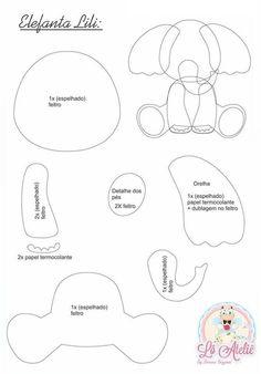 FETROKLUB: ideas - felt - productsFETROKLUB: ideas - felt - productsThis article is not availableTiny Felt Elephant Circus Elephant Felt Animals Pom Pom Felt Animal Patterns, Felt Crafts Patterns, Applique Patterns, Stuffed Animal Patterns, Sewing Patterns, Elephant Template, Elephant Pattern, Elephant Applique, Quilt Baby
