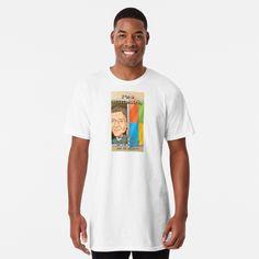 T-shirt long 'Be awesome ' par Amaynut T Shirt Long, My T Shirt, V Neck T Shirt, T Shirt Chien, Pink Cheeks, Cute Sheep, Legging, Zig Zag Pattern, Color Patterns