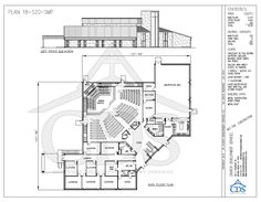 Church floor plans free designs free floor plans building plans 18 520 smp cpfl 500 3 main fl malvernweather Choice Image