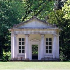 Temple of Pan, Osterley Park . Eighteenth century neoclassic style temple at Osterley Park. The interior, redesigned by Robert Adam in the late 18th century, has been painstakingly preserved. . . . Source/Credit: nationaltrust.co.uk, regencyhistory Photo: d0gwalker via Flickr