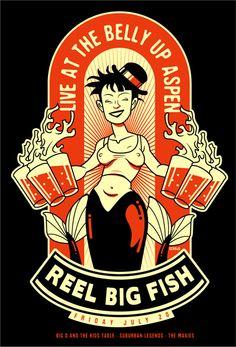 GigPosters.com - Reel Big Fish - Big D & The Kids Table - Suburban Legends - Maxies, The