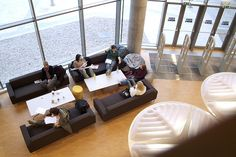 Social Seating Area Glasgow Caledonian University