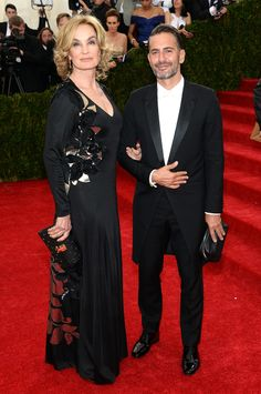 Vogue Daily — Jessica Lange in Marc Jacobs and Marc Jacobs in Saint Laurent