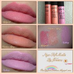 The Lipstick Duchess: NYX Soft Matte Lip Creams Review and Swatches