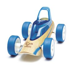 Shop for wooden educational toys made of sustainable materials by Hape. Bamboo Art, Bamboo Crafts, Bamboo For Sale, Hape Toys, Wooden Educational Toys, Roadster, Wooden Car, Woodworking Toys, Toy Rooms