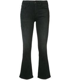 Designer Clothes, Shoes & Bags for Women Cropped Jeans, Cut Jeans, Jean Grey, Frame Denim, Denim Fashion, Black Denim, Flare Jeans, Skinny Jeans, Clothes