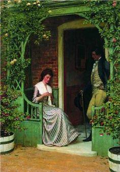 A Quiet Moment by Edmund Blair-Leighton
