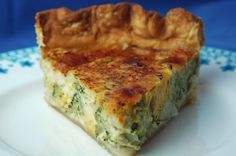 Amazing Brocolli cheese quiche. I think the worcestershire is the key. I used whole grain mustard, not dijon. Best i have ever had!