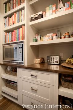 Pull out drawers for vegetables - veranda interiors: Our Home {Mud Room & Pantry}