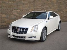 Cadillac CTS 2012.   Someday I hope to own one!